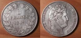 Louis-Philippe - 5 Francs 1847A - J. 5 Francs