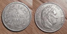 Louis-Philippe - 5 Francs 1833A - J. 5 Francs