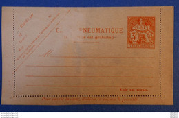 548 FRANCE 1901 BELLE CARTE RARE TELEGRAPHE 3 FRANCS NON VOYAGEE - France