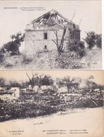 QG -  Lot 10 Cartes - MILITARIA:  Guerre 1914-1918 - Divers Aspects Et Ruines De Plusieurs Villes (1) - 5 - 99 Karten