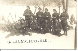 La SHR D'Albertville - Albertville