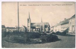 152. Gheel - Groote Markt Met St. Amandskerk 1921 - Geel