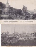QG -  Lot 10 Cartes - MILITARIA:  Guerre 1914-1918 - Divers Aspects Et Ruines De Plusieurs Villes (2) - 5 - 99 Karten