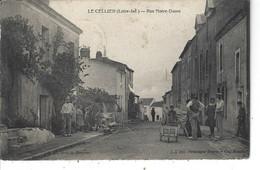 44 - LE CELLIER - Belle  Animation De La Rue Notre Dame ( Charrette , Brouette ) - Le Cellier