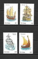 Gambia 1998 Ships MNH - Gambia (1965-...)