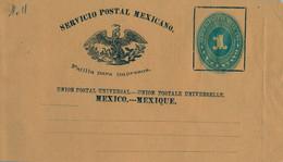 MÉXICO - FAJA POSTAL PARA IMPRESOS , NO CIRCULADA , UN CENTAVO - Messico