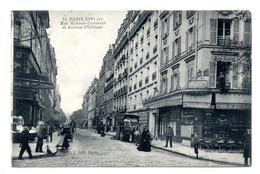 Paris Rue Monton Duvernet - Arrondissement: 14