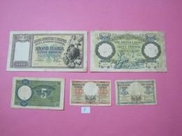 Albania Lot 5 Banknotes Nd 1939, 4 - Albania