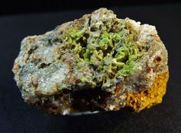 Pyromorphite On Matrix ( 3 X 2 X 2 Cm ) Hofgrund -  Breisgau-Hochschwald -  Baden-Württemberg -  Germany - Mineralen