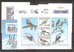 Slovaquie (BF 7/13 XXX -MNH) - Blocks & Sheetlets