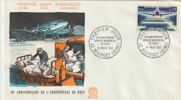 FDC FRANCE N°Yvert 1418 (AEROPOSTALE DE NUIT)  Obl Sp 1er Jour - 1960-1969