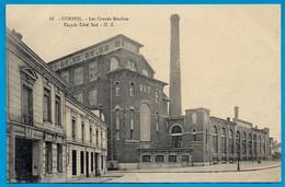 CPA 91 CORBEIL - Les Grands Moulins - Façade Côté Sud ° H.S. - Corbeil Essonnes