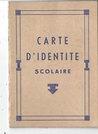 62 - ARRAS - T.Belle Carte D'identité Scolaire ( école Des Filles JeanJaurès ) - élève : Camphin Mauricette ) - Diploma's En Schoolrapporten