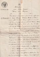 Altdeutschland / 1867 / Dokument, 7 Seiten, Gebuehrenstempel, Papiersiegel (A894-50H) - [1] Prephilately