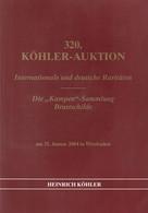 """Die """"Kampen""""-Sammlung, Brustschilde / 2004 / Koehler-Auktionskatalog, 1320 Seiten (A899-470R) - Catalogues For Auction Houses"""