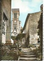 Vendée 85 APREMONT - L'église (escalier) - Reflets Sur La Vie (rivière Du Village, Tours, Pont, Château) - Lapie Combier - Francia