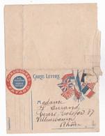 Carte En Franchise Militaire Publicitaire - Chaussures Fayard - Etat - Marcofilie (Brieven)