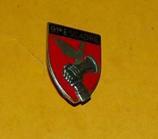 ARMEE DE L'AIR : 91° Escadre De Bombardement, MONT De MARSAN, FABRICANT DRAGO PARIS, HOMOLOGATION 913  ,BON ETAT VOIR PH - Armée De L'air