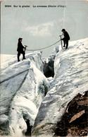 Sur Le Glacier - La Crevasse (Glacier D'Orny) (8094) - VS Valais