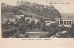 EDINBURGH - CASTLE AND NATIONAL GALLERIES - Controluce