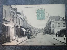 St-GAULTIER - Rue De Lignac - Otros Municipios