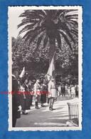 5 Photos Anciennes - LA SEYNE Sur MER - Cérémonie Militaire - 1934 - Officier Drapeau - Panneau Hippodrome De Langoubran - Krieg, Militär
