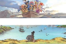 TURCONI  -  Marque-pages  -  Les Filles Des Marins Perdus  (2 Différents) - Bookmarks
