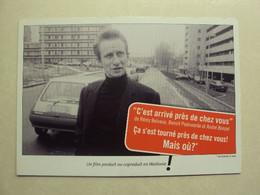 35995 - RECLAME - CINEMA WALLONIA - ZIE 2 FOTO'S - Belgique