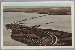 DK.- STORSTROMSBROEN. Storstrømbrug. BRIDGE. DANMARK. 1947. - Puentes
