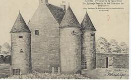 FRANCE - FELDPOST - Verpilllières - Schloss - 1915 - Dessin A. Ritzenberger - France