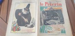 PELERIN 38 /ETAT COBAYE CONTRIBUABLE IMPOTS / CHINE GUERRE /POMPIERS FEU VICTIMES/ESPAGNE GUERRE TERUEL - Books, Magazines, Comics