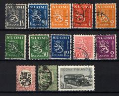 FINLANDIA - PICCOLA COLLEZIONE - USATI - Collections