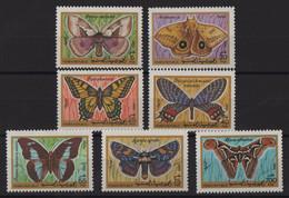 Yemen - N°9 à 15 - Faune - Papillons - Cote 6.50€ - * Neufs Avec Trace De Charniere - Yemen