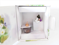 Miniatures De Parfum  COFFRET  LOLITA  LEMPICKA LE JARDIN EXTRAORDINAIRE  EDP  5 Ml + BOITE - Modern Miniatures (from 1961)