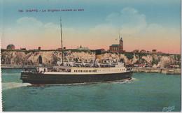 Dieppe : Le Brighton Rentrant Au Port - Ferries