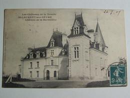 D85D SAINT LAURENT SUR SEVRE Chateau De La BARBINIERE - Francia