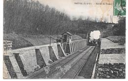 Cpa Bréval - Entrée Du Tunnel. - Sonstige Gemeinden