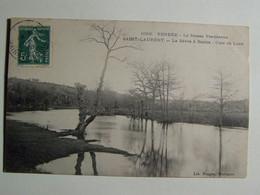 D85D SAINT LAURENT SUR SEVRE La Sevre à Barbin  Clair De Lune - Francia