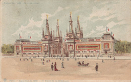 PARIGI - EXPOSITIONS DE 1900 - Controluce