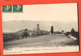 ROH2-33 Saint-Martin-en-Coailleux  Vue Générale. Circulé Vers La Suisse - Saint Chamond