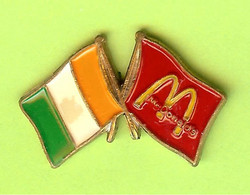 Pin's Mac Do McDonald's Irelande Drapeau - 1D03 - McDonald's