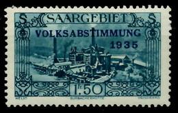 SAARGEBIET 1934 Nr 190 Postfrisch X794ED6 - Unused Stamps