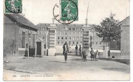 Cpa Amiens - Caserne Grébauval . - Amiens