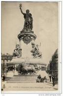 PARIS - MARIANNE; Monument De La République;  C. L. C.   1904 - Statues