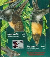 VANUATU 1996 - Chauves Souris - China'96 - BF - Vanuatu (1980-...)