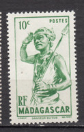 ##4, Madagascar, Malagasy, Costume, Arme, Weapon, Chasseur, Hunter - Madagascar (1889-1960)