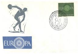 (O 23) EUROPA CEPT - Germany - 1960 - Pokal 1961 - Sport  (ECSSA Sydney) - Europa-CEPT