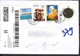 Spain Modern Cover To Serbia - 2011-... Lettres