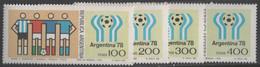 Argentina - #1188-91(4) - MNH - Argentina