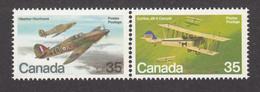 Canada, 1980, #876, Avions Militaires, Avion, Military Planes, Plane, - 1952-.... Regno Di Elizabeth II